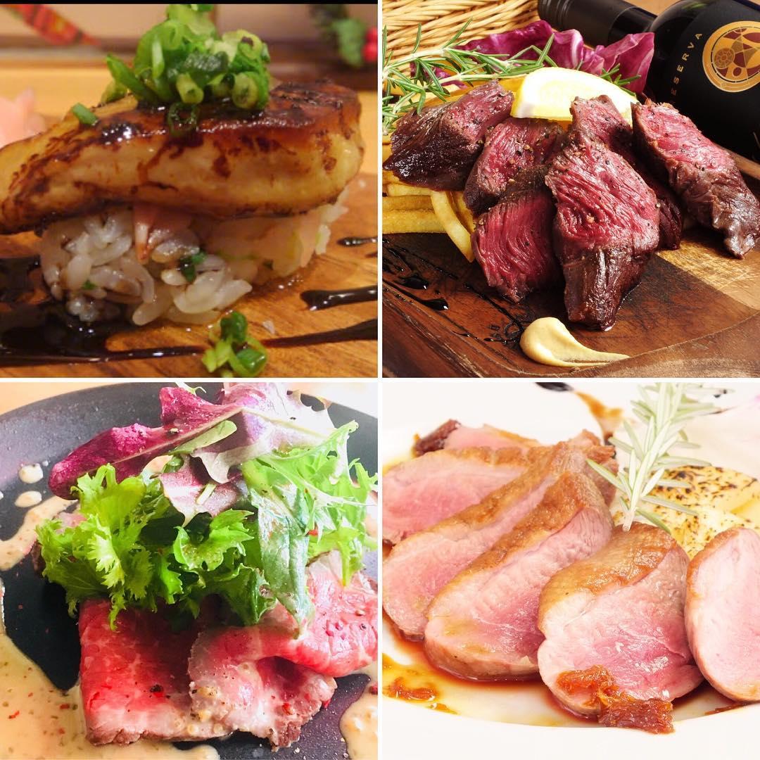 がっつり肉肉コース